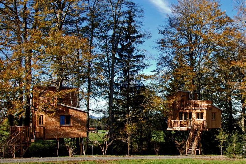 Baumhaushotel - Ferienhof und Baumhaushotel im Allgäu ...